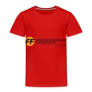 Din by, fit valg - Børnekollektion - Børne premium T-shirt