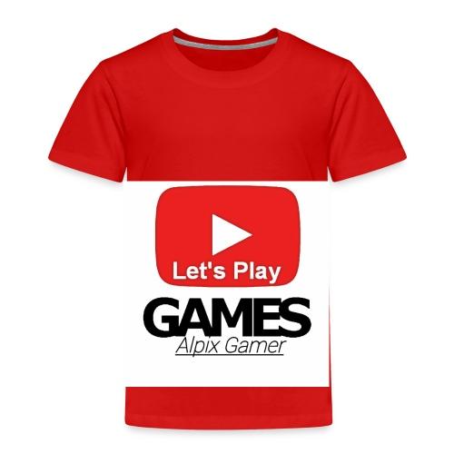 Das ist mein YouTube logo - Kinder Premium T-Shirt