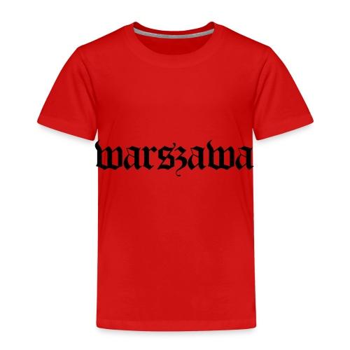 Warszawa Polska Warsaw Warschau - Kinder Premium T-Shirt