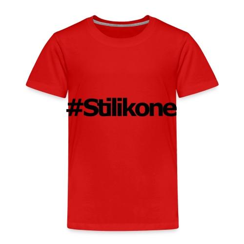 Stilikone black - Kinder Premium T-Shirt
