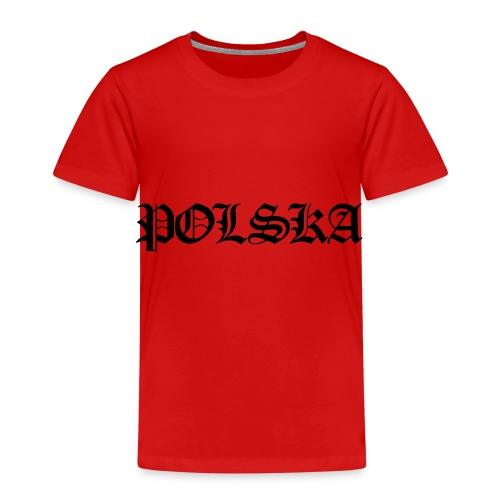 Polska-Poland - Kinder Premium T-Shirt