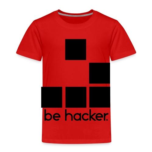 be_hacker-png - Maglietta Premium per bambini
