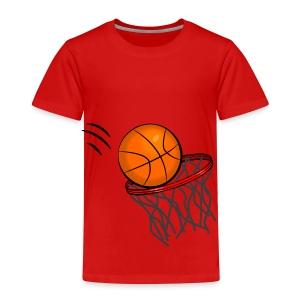 Ball in the Hoop - Kids' Premium T-Shirt