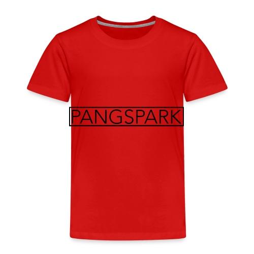 Pangspark T-Shirt Vit - Premium-T-shirt barn