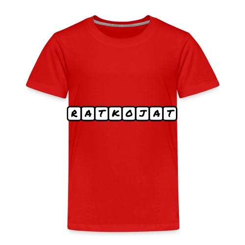 Ratkojat-muki - Lasten premium t-paita