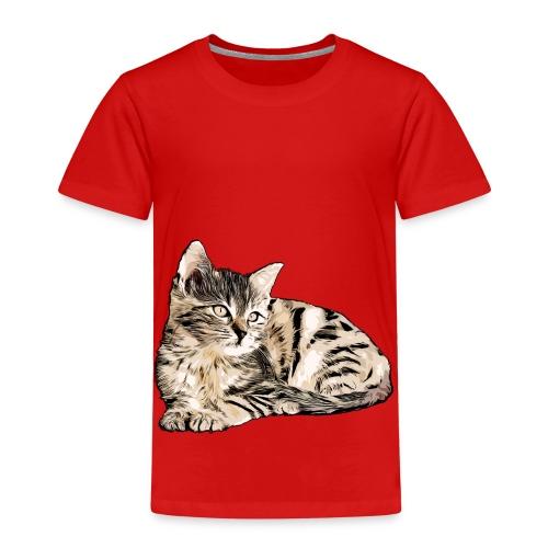 Süße Katze - GOutside - Kinder Premium T-Shirt