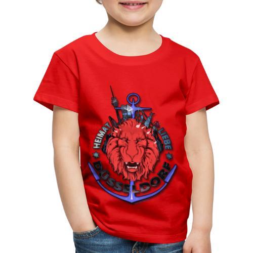 Heimat-Liebe-Düsseldorf - Kinder Premium T-Shirt