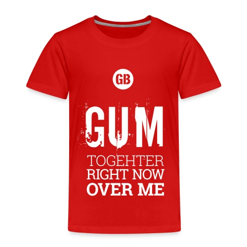 GUM TOGETHER (Reinweiß) - Kinder Premium T-Shirt
