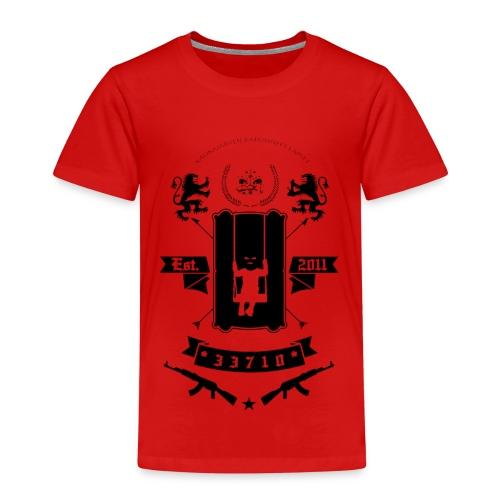 KKL LOGO MUSTA - Lasten premium t-paita