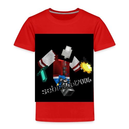 Sebastian yt - Børne premium T-shirt