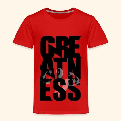 Greatness con Figura - Camiseta premium niño