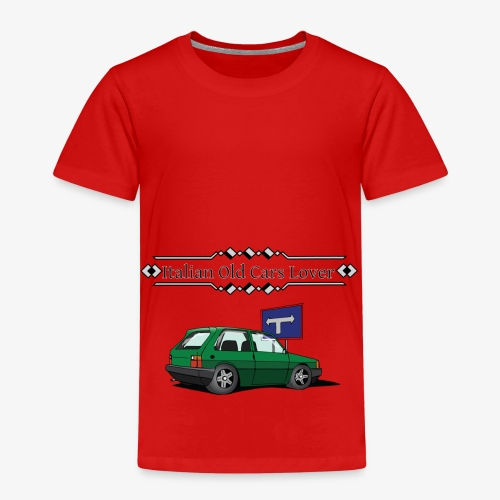 Italian Old Cars Lover - Maglietta Premium per bambini