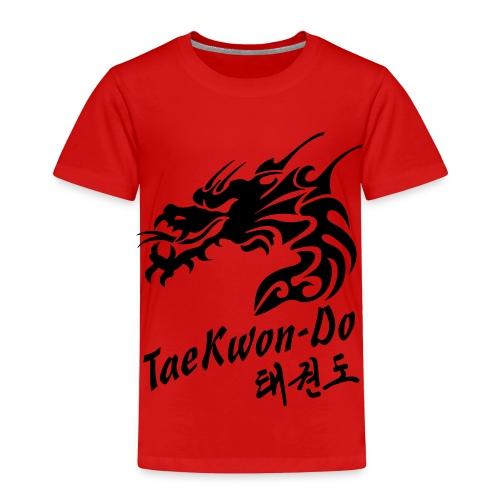 Taekwondo Dragon - Kids' Premium T-Shirt