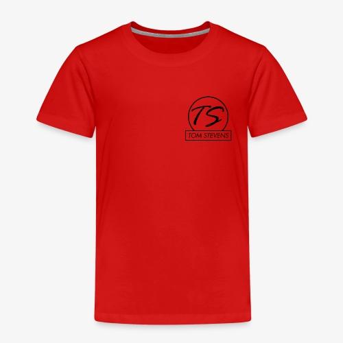 Tom Stevens Logo BLACK - Kids' Premium T-Shirt