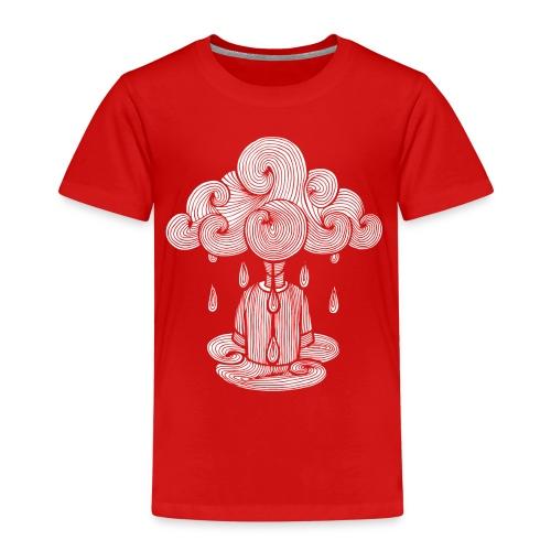 nuage, lundi nuage pluie, le lundi c'est nul... - T-shirt Premium Enfant