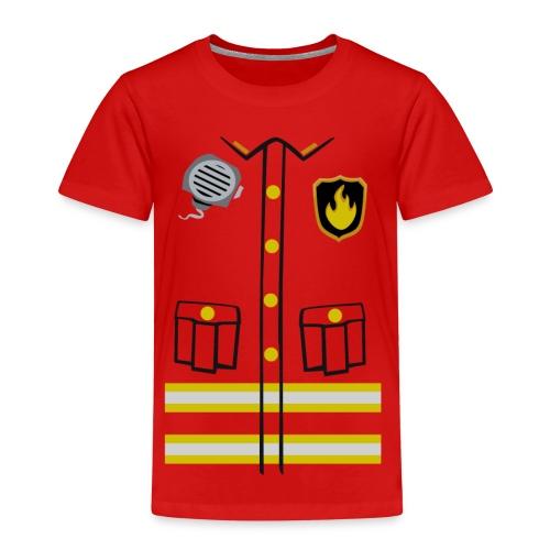 Firefighter Costume - Kids' Premium T-Shirt