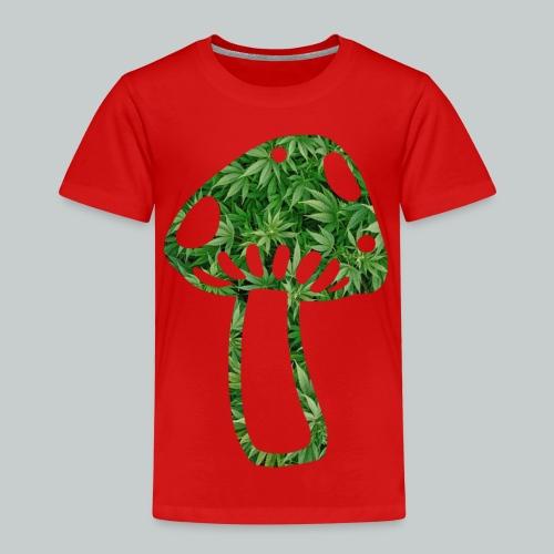 mushroom power - Kinder Premium T-Shirt