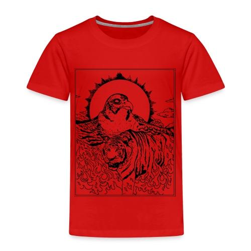 Tiger Falcon Concept - Kinder Premium T-Shirt