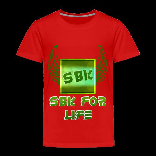 SBK For life - Kinderen Premium T-shirt