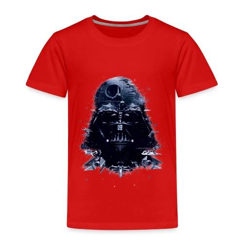 dark vader trans - Kinder Premium T-Shirt