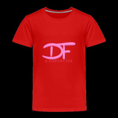 Dropfayter Logo - DF Roze - Kinderen Premium T-shirt