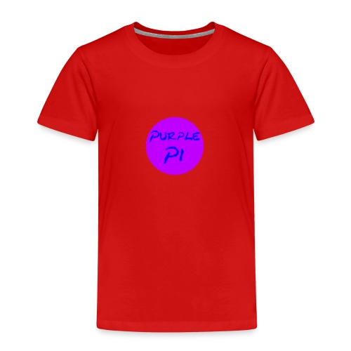 Purple Pi - Kinder Premium T-Shirt