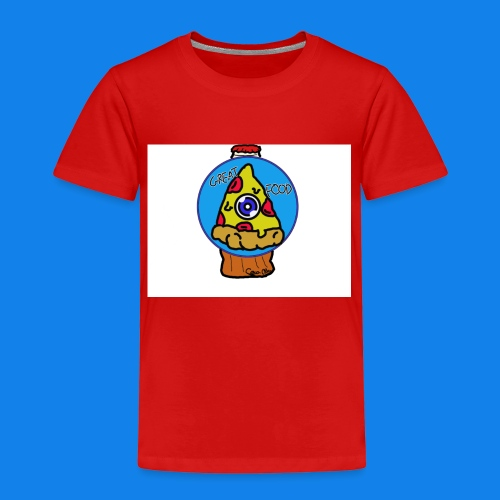 pizza the great food - Camiseta premium niño