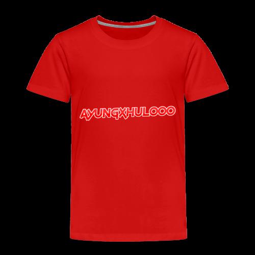 AYungXhulooo - Neon Redd - Kids' Premium T-Shirt