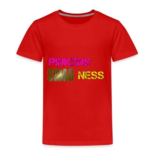 Pinkens swagness - Børne premium T-shirt