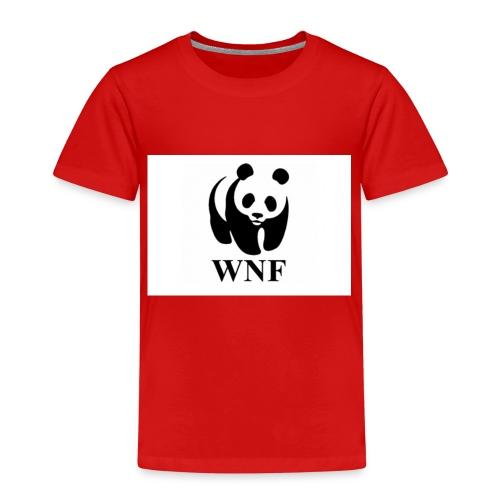 wnf logo panda - Kinderen Premium T-shirt