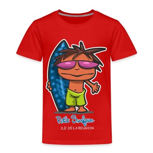 Petit Surfeur Réunion - T-shirt Premium Enfant