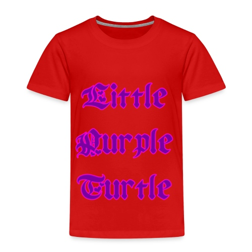 Little Purple Turtle - Kids' Premium T-Shirt