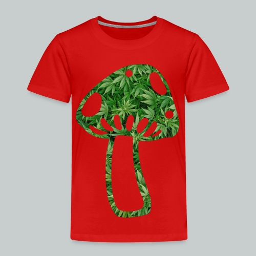mushroom power - Kinder Premium T-Shirt