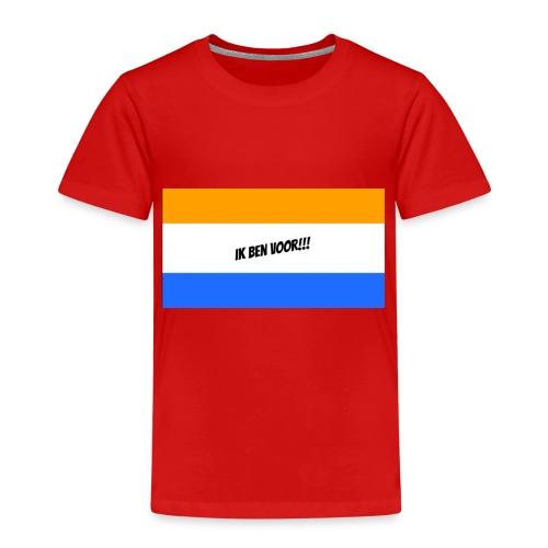 Ik ben voor!! - Kinderen Premium T-shirt