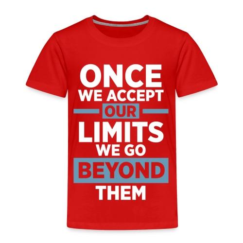 Once we accept our limits - Kids' Premium T-Shirt