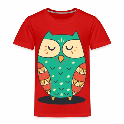 Cute Owl - Kinder Premium T-Shirt