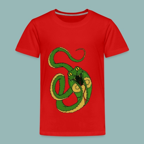 Kobra Bunt - Kinder Premium T-Shirt