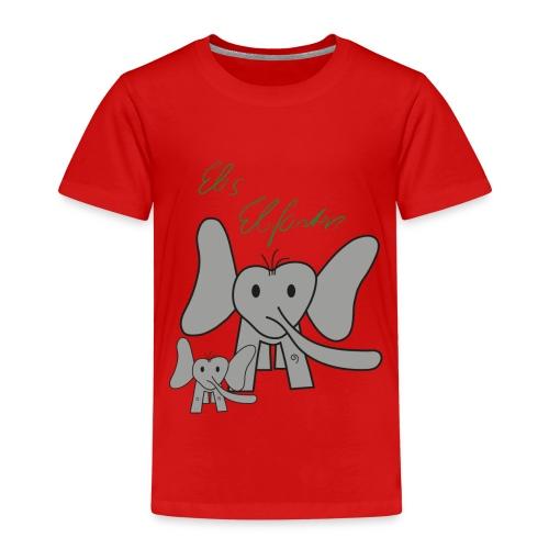 Eles Elefanten - Kinder Premium T-Shirt