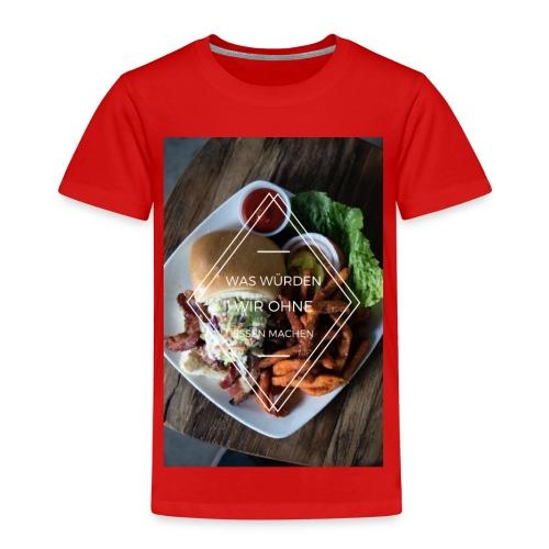 Essen ist unser LEBEN - Kinder Premium T-Shirt