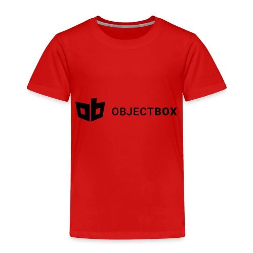 ObjectBox Black - Kinder Premium T-Shirt