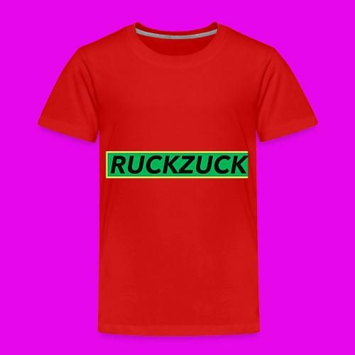 Ruckzuck1.0 - Kinder Premium T-Shirt