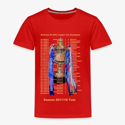 Montrose League Cup Tour - Kids' Premium T-Shirt