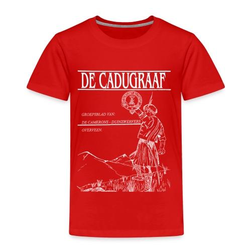cadugraaf wit - Kinderen Premium T-shirt