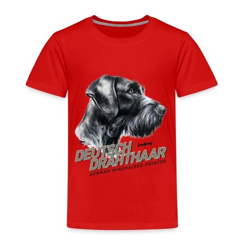 Deutsch Drahthaar Lieblingshund - Kinder Premium T-Shirt