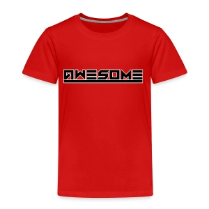 Awesome (Black) - Kids' Premium T-Shirt