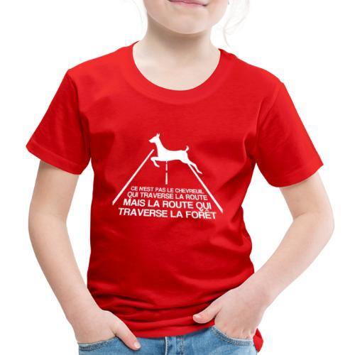 Chevreuil blanc - T-shirt Premium Enfant