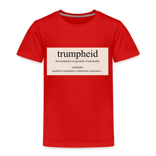 trumpheid synonyms - Kids' Premium T-Shirt