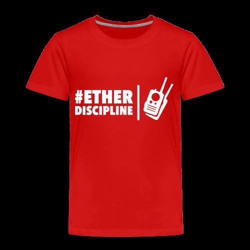 ETHERDISCIPLINE - Kinderen Premium T-shirt
