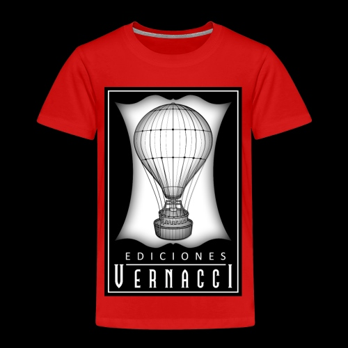 logotipo de ediciones Vernacci - Camiseta premium niño