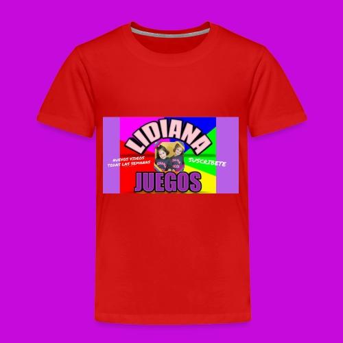 LIDIANA JUEGOS - Kids' Premium T-Shirt